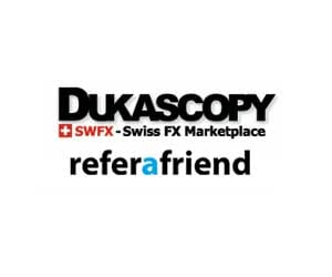 Dukascopy Refer a friend