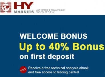 HY Market ~ Up to 40% Forex Welcome bonus 2015