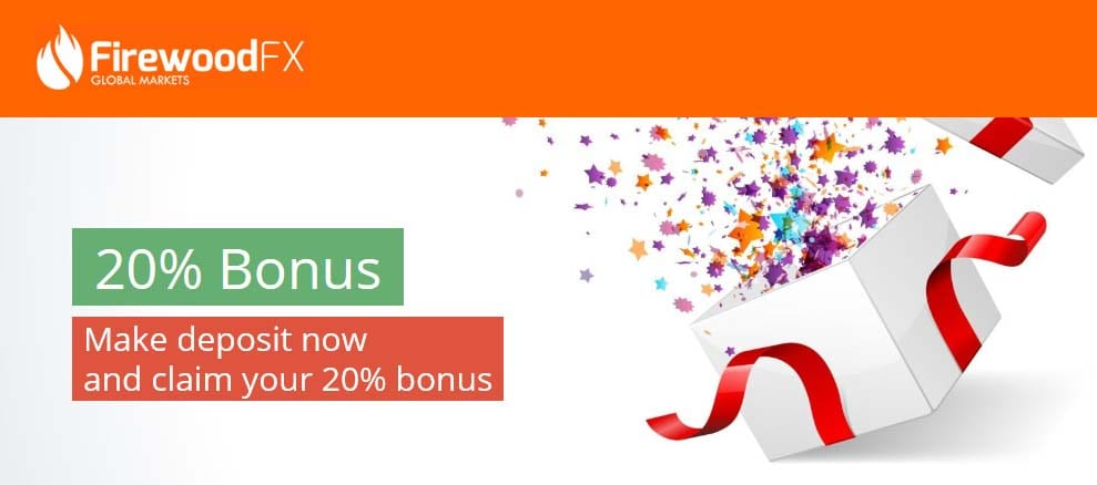 20% Tradable bonus up to $5000