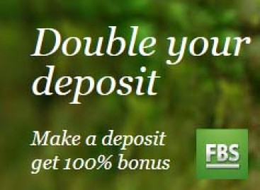Double your deposit with 100% bonus – FBS