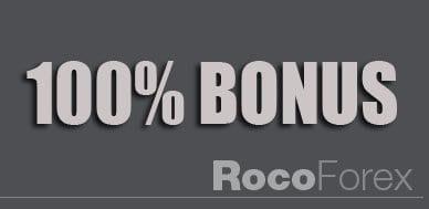 100% Bonus Promotions Forex deposit Bonus