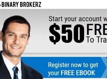 $50 Free No Deposit Binary Options Bonus