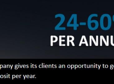 Get 24-60% return that deposited per year – FXmoneyworld