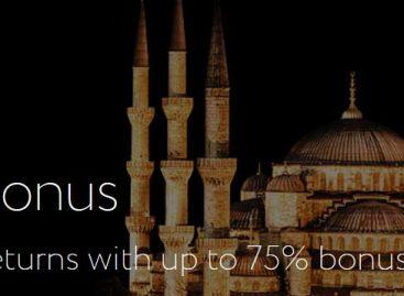 75% Ramadan Deposit Bonus – Exness
