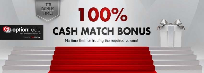 100% Cash Match Binary Bonus