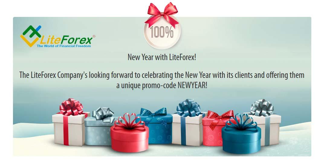 100% Forex Bonus promo-code New Year 2016