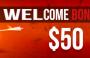 $50 Welcome No-deposit bonus – FortFS
