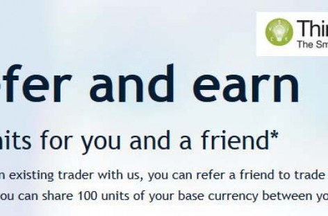 Refer and earn 50 units – ThinkForex