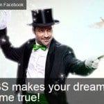 Dream comes true Facebook Contest - FBS