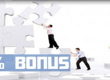 100% Welcome Bonus – 4xNetworks