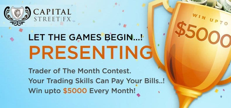 Weekly demo trading contest