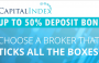 Up to 50% Deposit Bonus – Capital Index