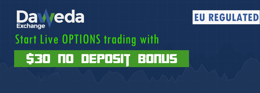 No deposit binary options get $100 for free