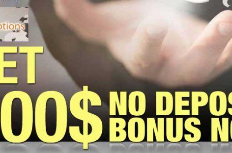 Options binary $100 bonus no deposit