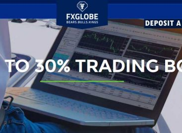 GET UP TO 30% TRADABLE BONUS – FXGLOBE
