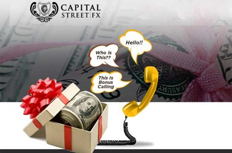 150% Tradable Bonus – Capital Street FX
