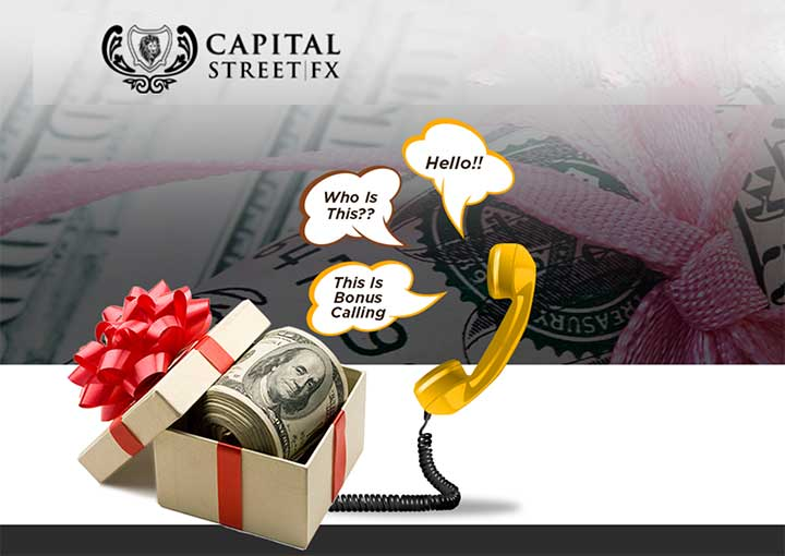 650% Tradable Bonus – Capital Street FX