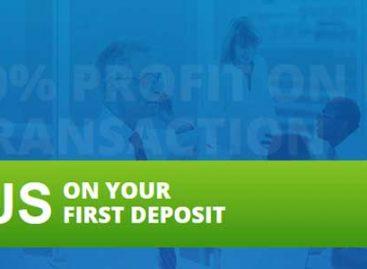 100% First Deposit Binary Bonus – TradesCapital