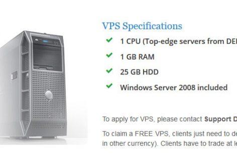 Fully Free VPS Hosting – Forexmart