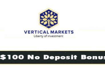 100 USD No Deposit Bonus – Vertical Markets
