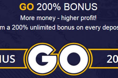 200% Tradable Bonus for All Deposit – LiteForex