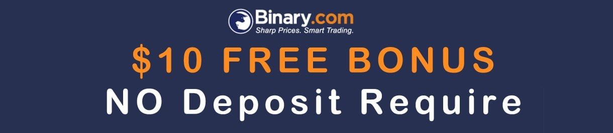 Binary options free bonus no deposit