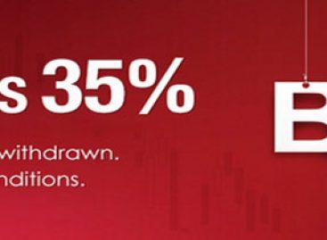 Forex Cash Deposit Bonus 35% – XtreamForex