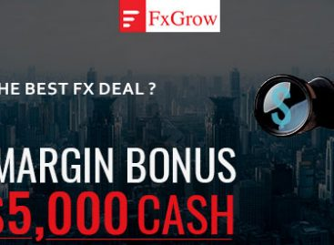 Up to 100% Deposit Bonus as Margin – FXGrow