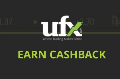 100% Real Money CashBack Bonus – UFX