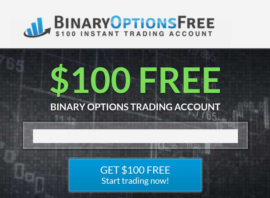 Binary options free money no deposit