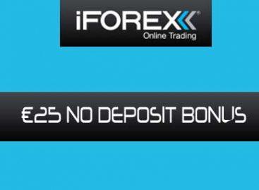 €25 NO DEPOSIT BONUS – iForex