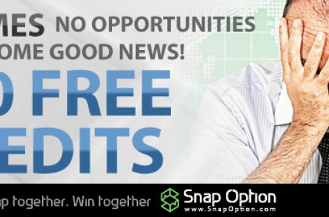 250 FREE No Deposit CREDITS – SNAP Options