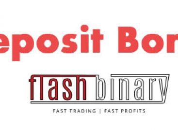 Deposit bonus – FlashBinary