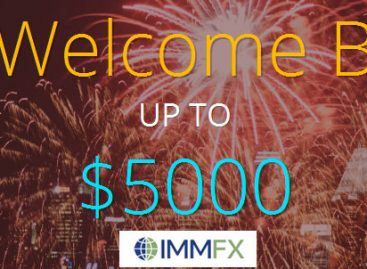 30% Welcome Bonus UP TO $5000 – immfx