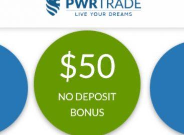 $50 Options No Deposit Bonus – PWRTRADE