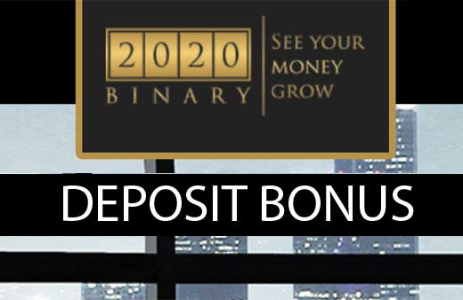 2020binary Deposit promotion