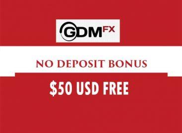 50 USD Free Credit NO-Deposit Bonus – GDMFX