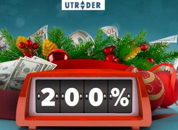 Up to 200% New Year's Deposit Offer – uTrader