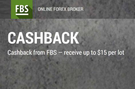 Up to $15 per lot Cashback – FBS