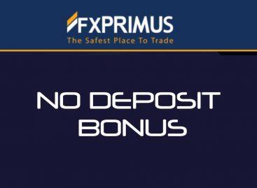 $33 NO Deposit Bonus Promo 2017 – FXPRIMUS
