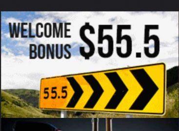 $55.5 Welcome Bonus NO-Deposit – Progrex
