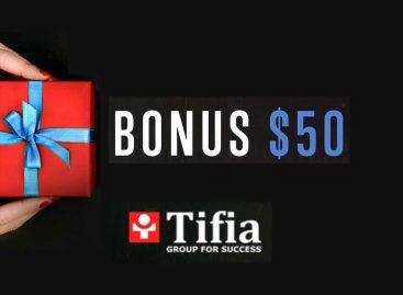 Receive $50 No Deposit Bonus Forex – TIFIA