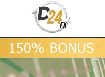 Offering up to 150% bonus – D24FX