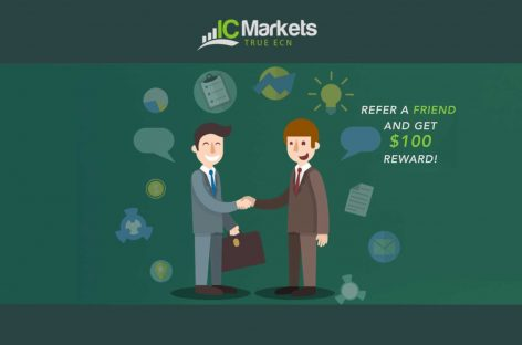 Refer a Friend & get $100 Reward – IC Markets
