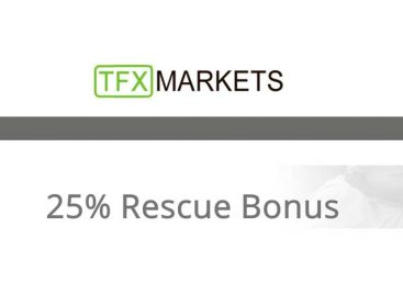 25% Rescue Equity Bonus – TFXMarkets