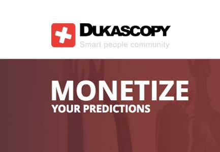 Monetize your predictions – Dukascopy