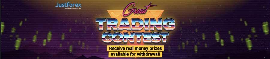 Great live contest justforex 2019