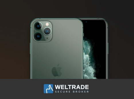 iPhone 11 Pro Max Free, Trade 250 lots – WelTrade
